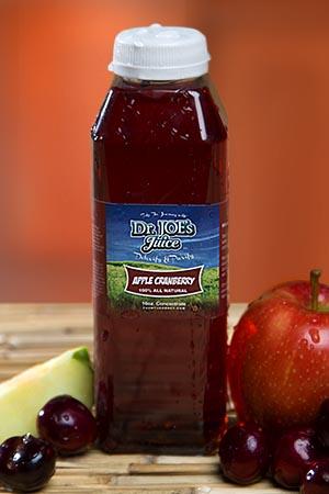 Dr Joe's Detox Apple Cranberry Juice