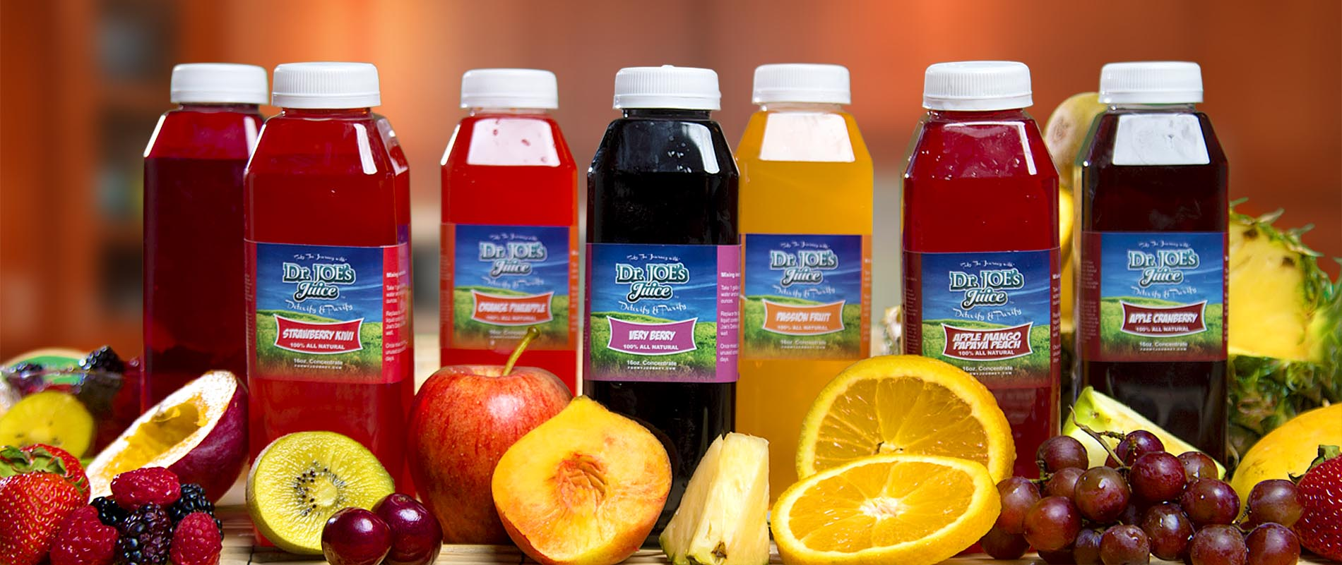 Dr Joe's Detox Juice Products